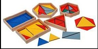 Constructive Triangles With 5 Boxes Montessori