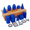 Geometric Solids_with Stand Montessori